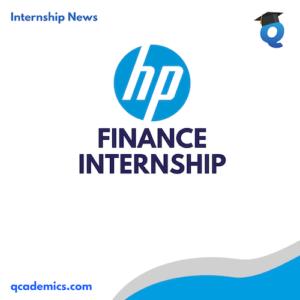 HP Internship Opportunity: Best Finance Internships (Internship News) | Date:- 16.12.2020