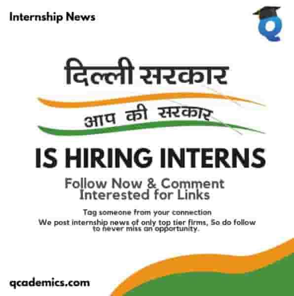Read more about the article Government of Delhi Jobs (Internship): Amazing Internship Opportunity (Internship News)- 09.03.2021