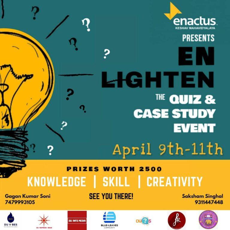 Read more about the article En-Lighten: Enactus Keshav Mahavidyalaya