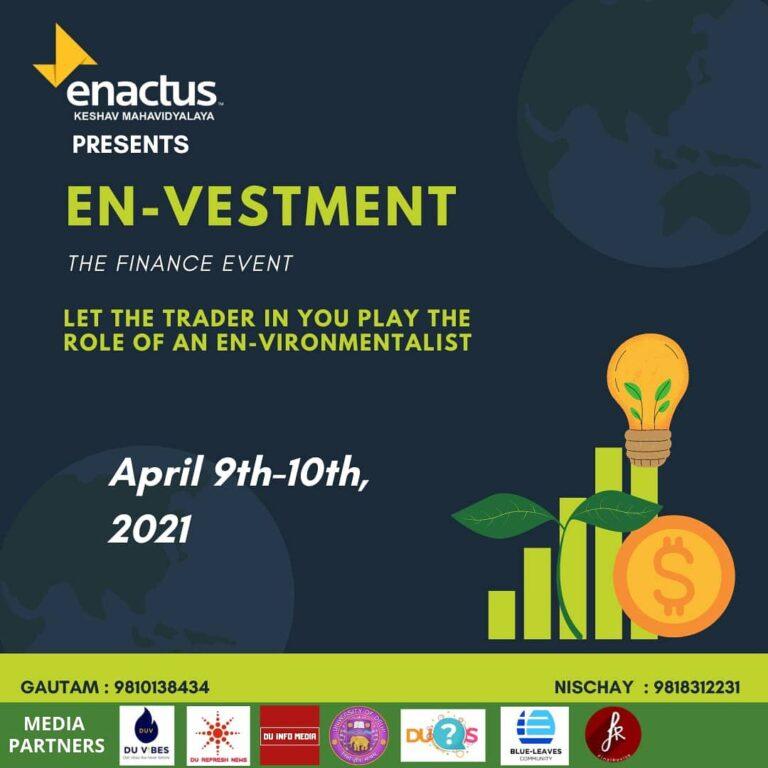 Read more about the article En-Vestment: Enactus, Keshav Mahavidyalaya
