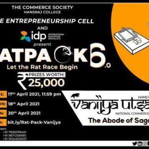 Ratpack 6.0: Commerce Society, Hansraj College