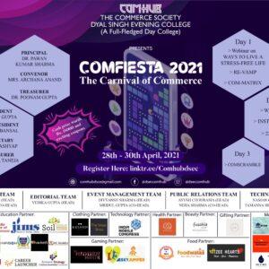 Comfesta 2021 – Comhub, Dyal Singh Evening College