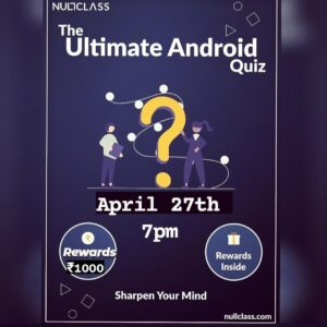 Android Quiz 2.0 by NullClass