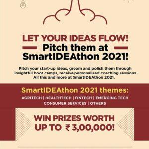 SmartIDEAthon2021 by GITAM's Venture Development Centre (VDC)