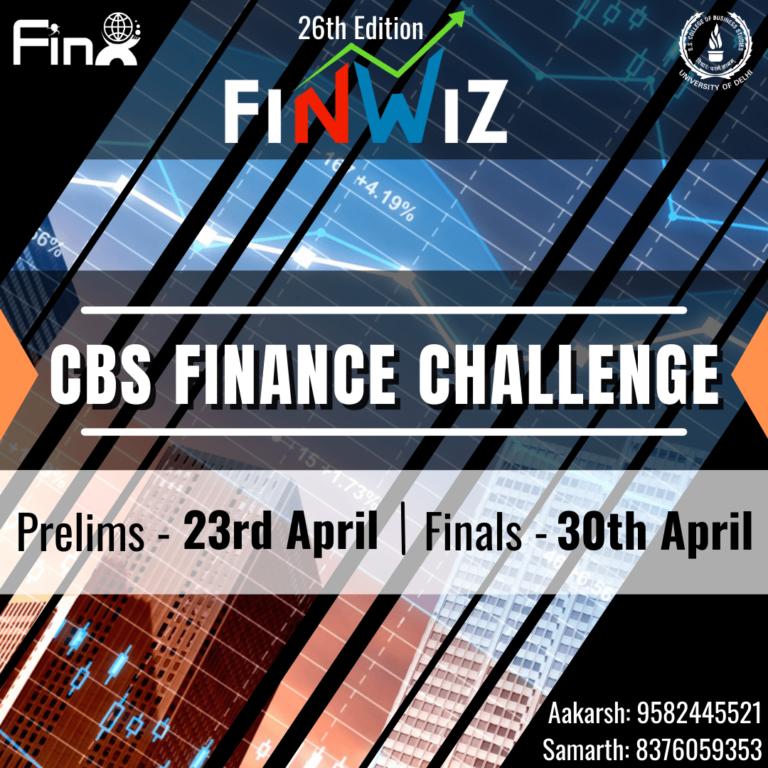 CBS Finance Challenge by FinX SSCBS