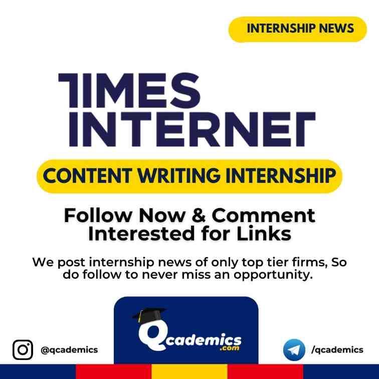 Internship at Times Internet: Content Writing
