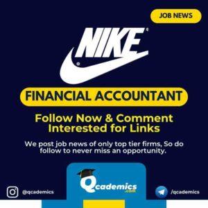 Nike Job News: Financial Accountant