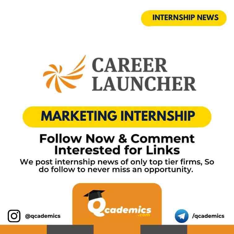 Internship at Career Launcher: Marketing