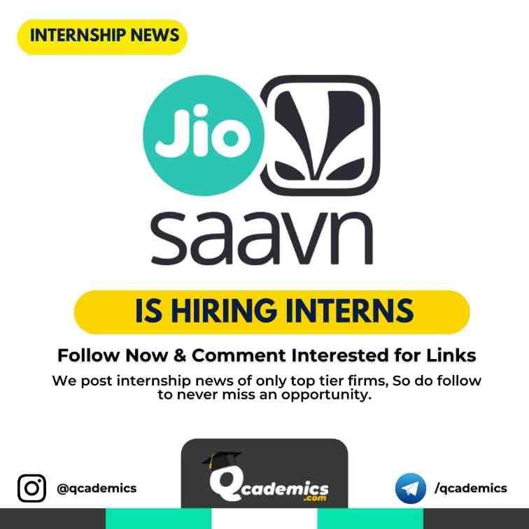 Read more about the article Internship at JioSaavn: Internship News