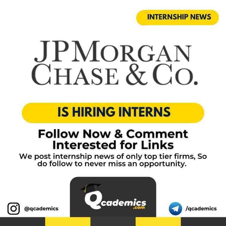 JPMorgan Internship : Investment Banking Analyst Program