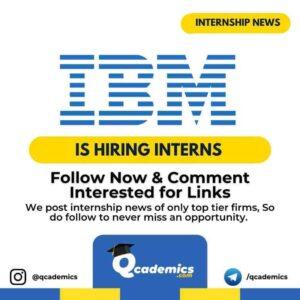 IBM Internship 2021: Project Trainee