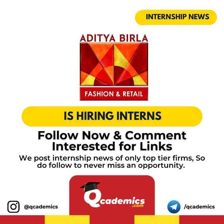 Read more about the article Aditya Birla Group Internship News: Sales