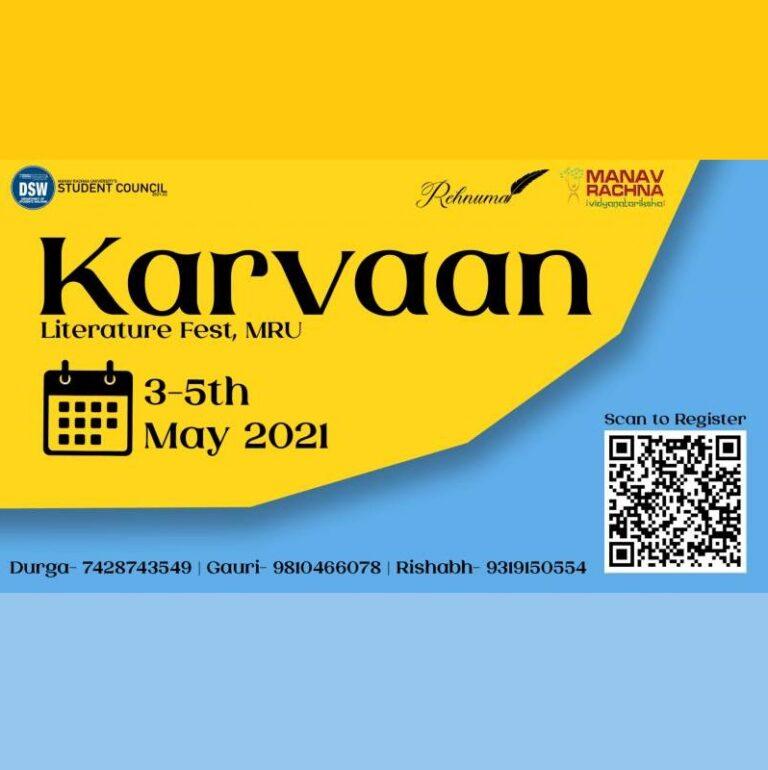 Karvaan by DSW, Manav Rachna University