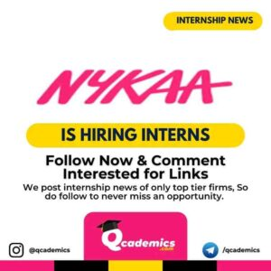 Nykaa Internship News : Catalogue Management