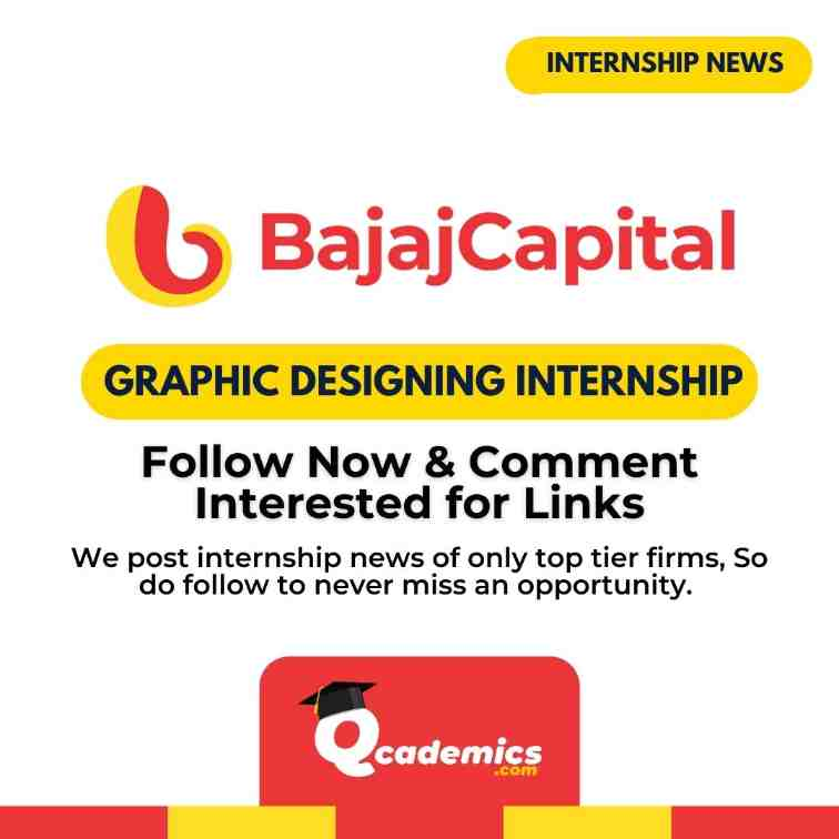 Bajaj Capital Internship: Graphic Design