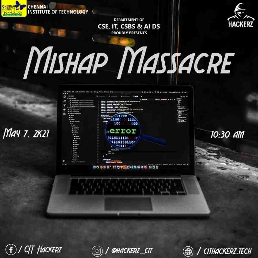 Debugging Event: Mishap Massacre