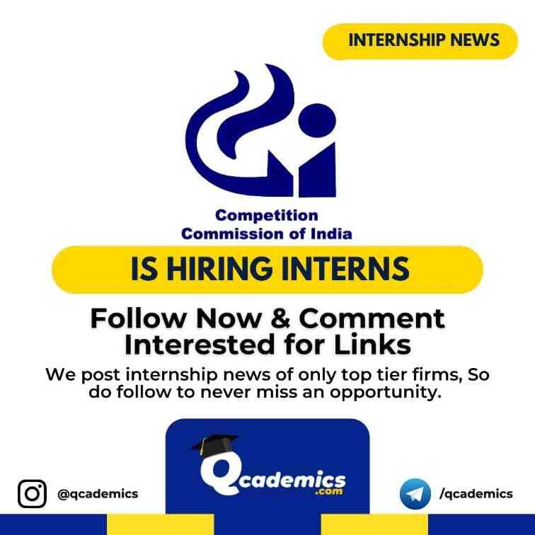 CCI Internship: Online Internship Programme