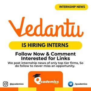 Vedantu Internship: Operations