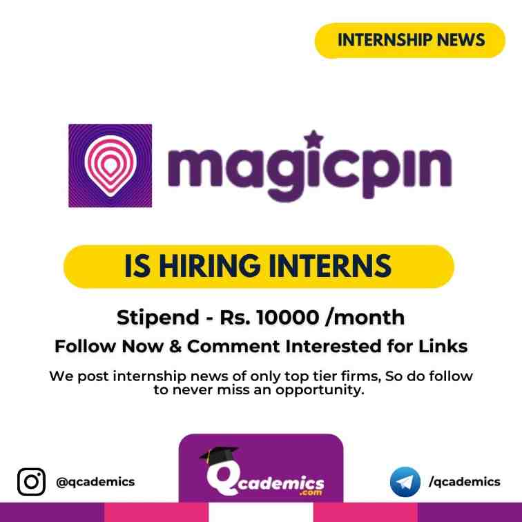 Read more about the article Magicpin Internship News: Finance & HR