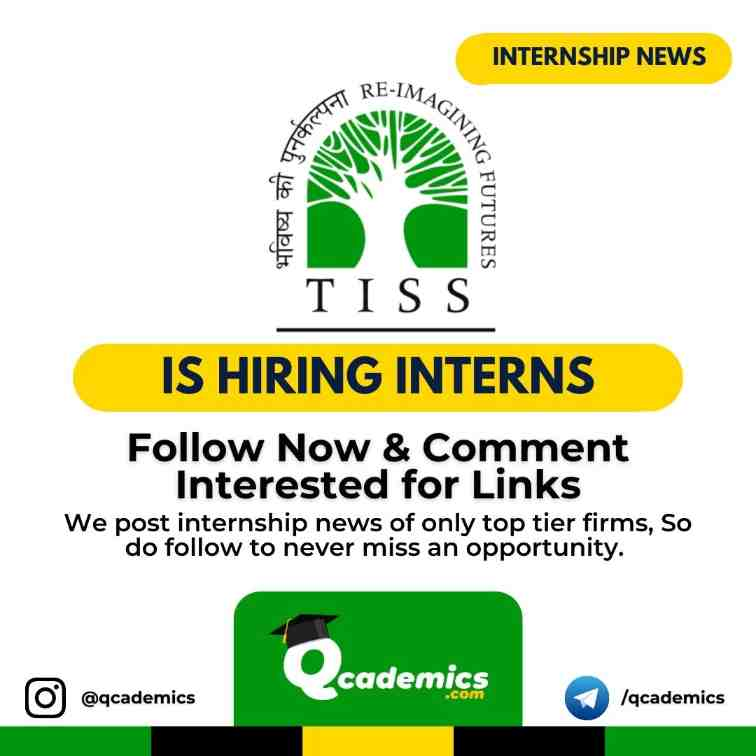 Read more about the article Internship at TISS: Internship Opportunity