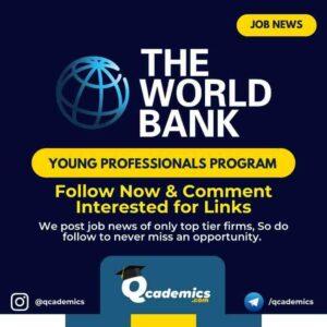 Job in World Bank : Leadership Development Job