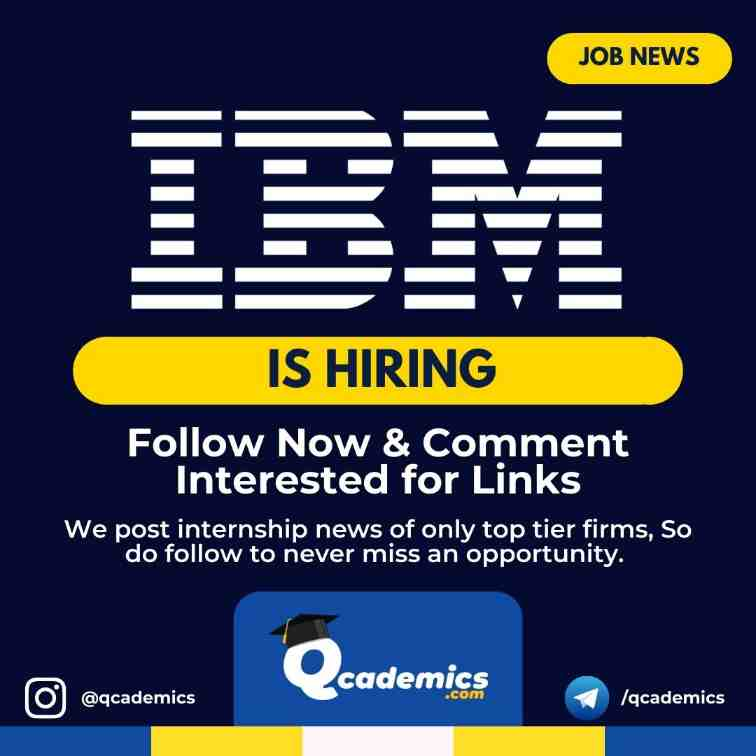 Read more about the article Job at IBM: Technical Services Professional