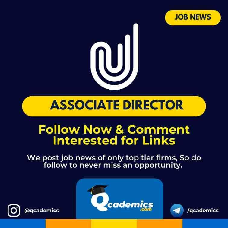 Upstox Careers: Associate Director Job