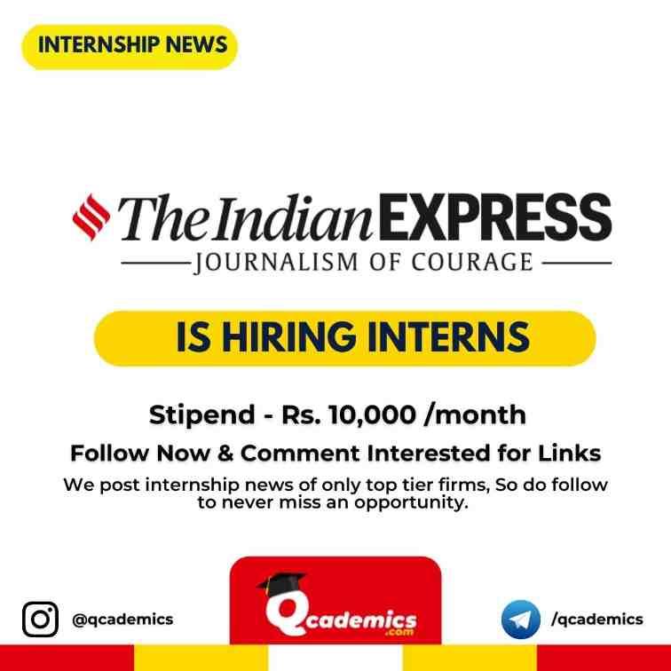 Internship at Indian Express: Business Development