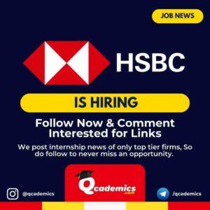 Job in HSBC: Consultant Specialist