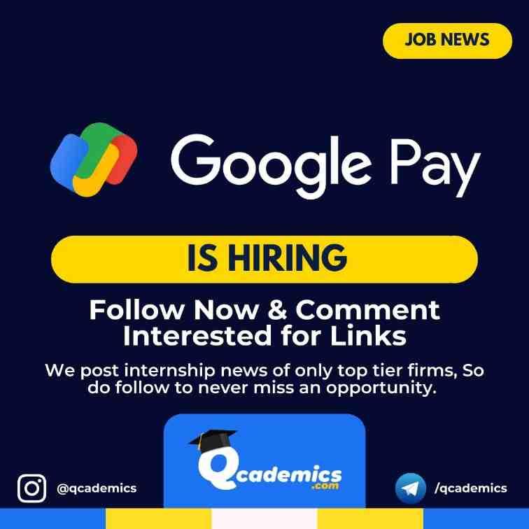 Google Pay Job: Product Marketing Manager