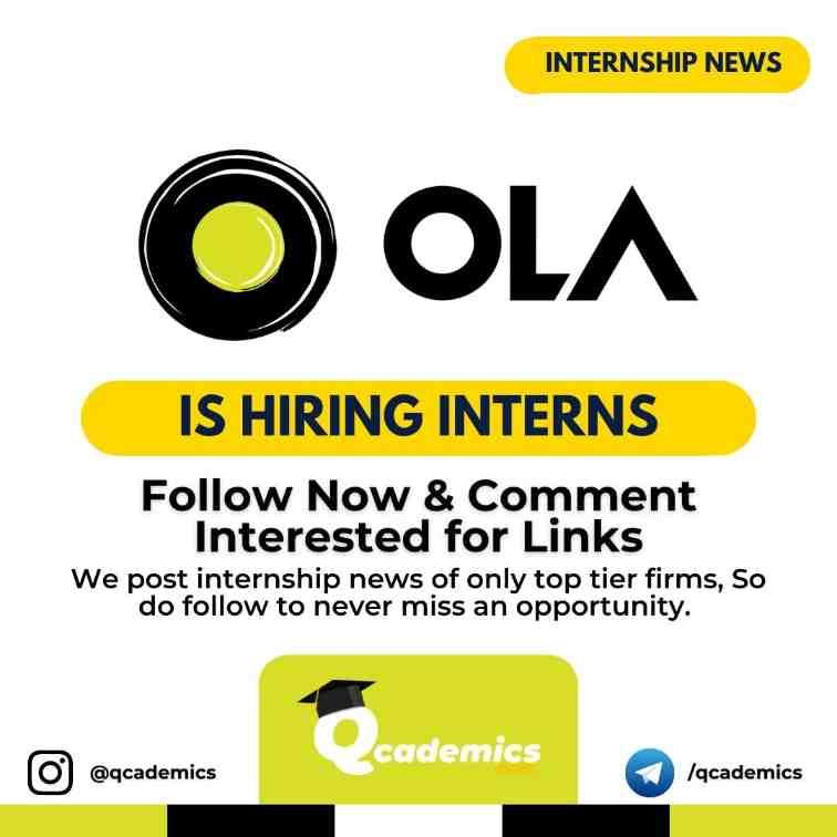 Read more about the article Internship at Ola: Web Development Internship