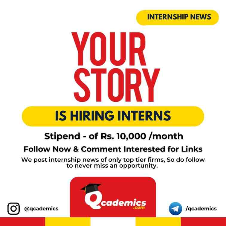 Read more about the article YourStory Internship: Marketing Internship