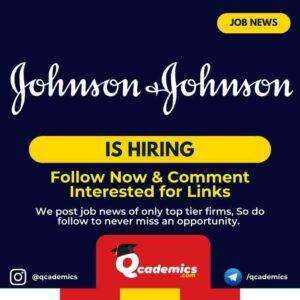 Job in Johnson & Johnson India: Regional Market Access Executive