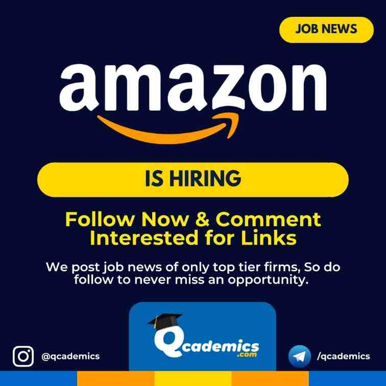 Read more about the article Job in Amazon India: Product Manager