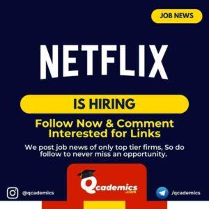Job at Netflix: Product Creative Strategist