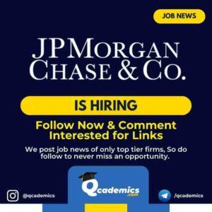Job at JPMorgan: Pyspark Developer